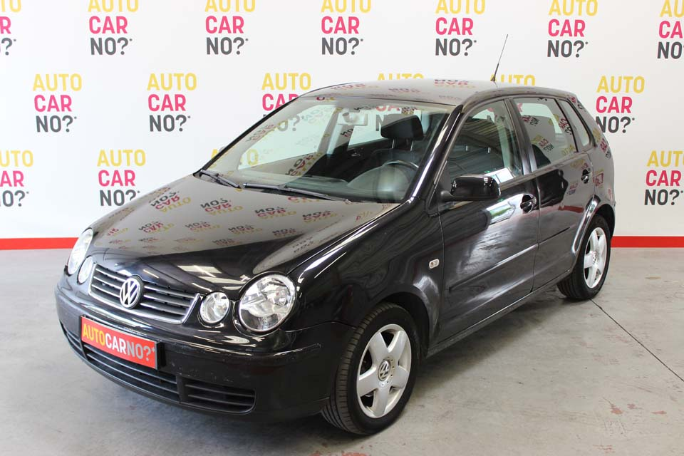 occasion volkswagen polo 4 tdi 100 match 5p noir diesel. Black Bedroom Furniture Sets. Home Design Ideas