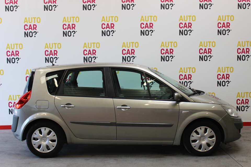 occasion renault scenic 2 1 9 dci 130 expression beige