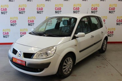 Voiture occasion RENAULT SCENIC 2 1.9 DCI 130 FAP EXPRESSION PROACTIVE A BLANC Diesel Nimes Gard