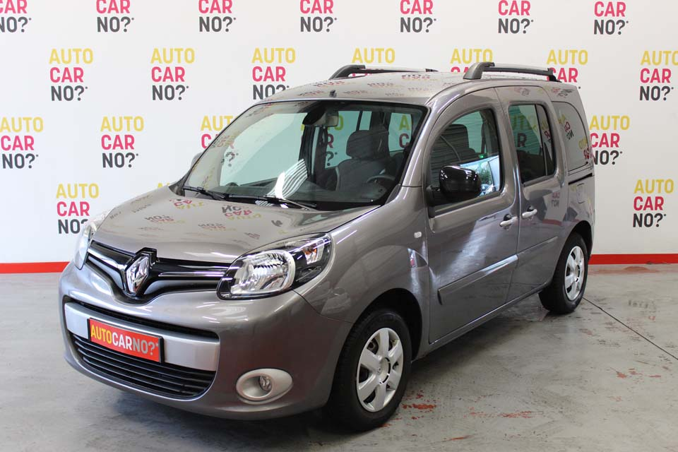 occasion renault kangoo 2 1 5 dci 90 energy ft intens gris. Black Bedroom Furniture Sets. Home Design Ideas