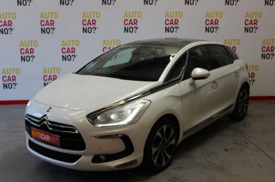 Voiture occasion CITROEN DS5 HDI 160 SO CHIC BLANC Diesel Nimes Gard