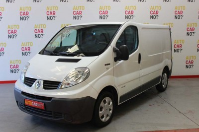 Voiture occasion RENAULT TRAFIC 2 FOURGON EXTRA L1H1 1000 DCI 115 BLANC Diesel Nimes Gard