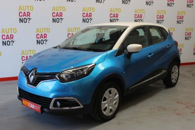 Voiture occasion RENAULT CAPTUR 1.5 DCI 90 ENERGY BUSINESS ECO2 BLEU Diesel Alès Gard