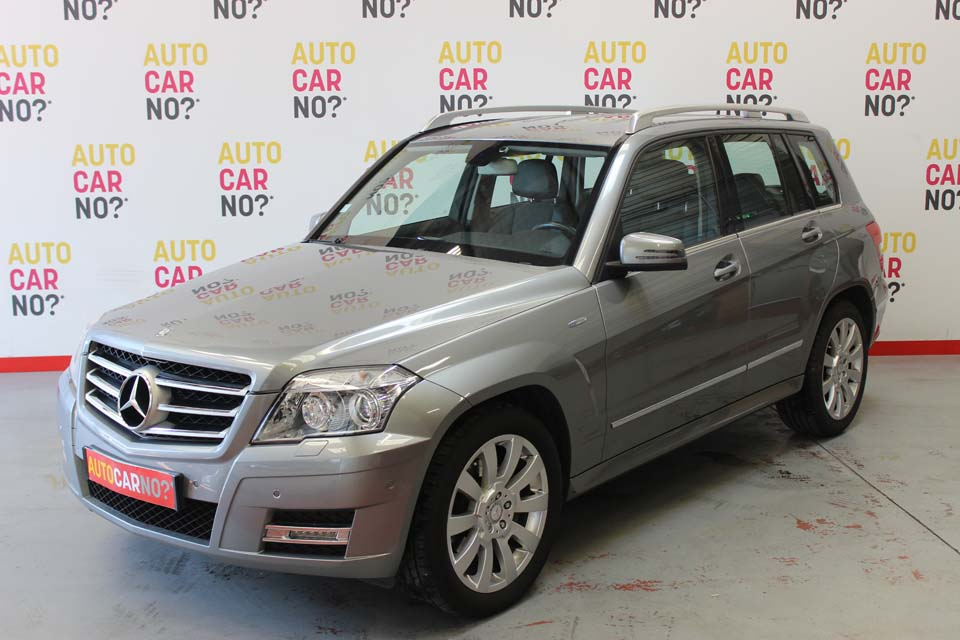 occasion mercedes classe glk 200 cdi blueefficiency gris. Black Bedroom Furniture Sets. Home Design Ideas