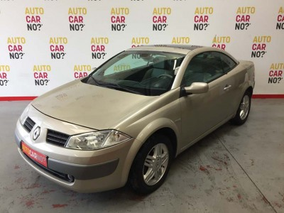 Voiture occasion RENAULT MEGANE 2 COUPE CABRIOLET 2.0 16S LUXE PRIVILEGE PROACTIVE BEIGE Essence Nimes Gard