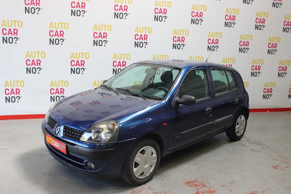 occasion renault clio 2 1 2 16s expression 5p bleu essence nimes 9469 auto car no