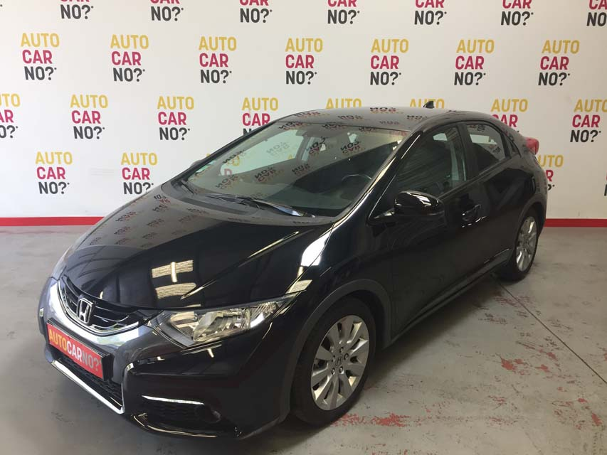 occasion honda civic 9 2 2 i dtec 150 executive navi noir diesel avignon 9625 auto car no