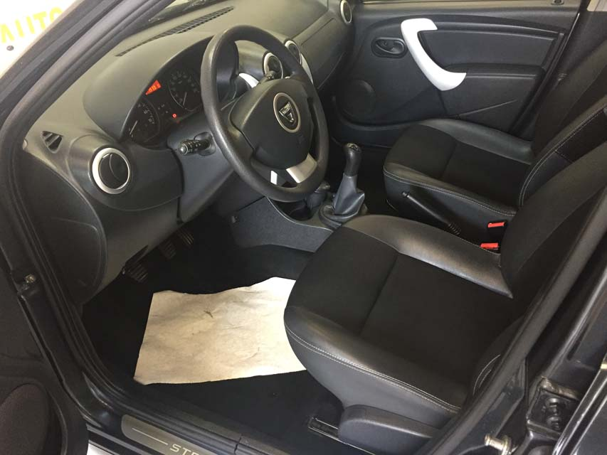 occasion dacia sandero 2 stepway 1 5 dci 90 fap ambiance euro6 gris diesel montpellier 9802. Black Bedroom Furniture Sets. Home Design Ideas