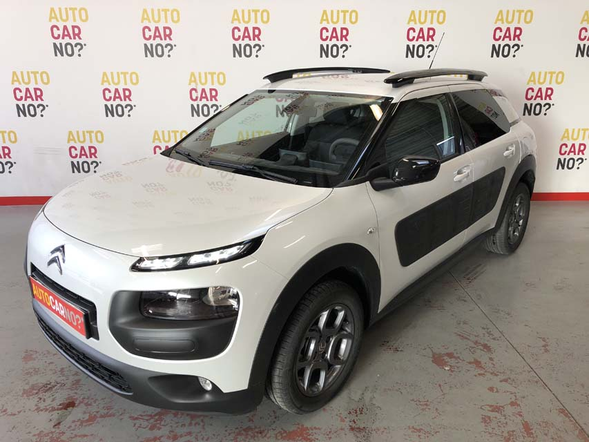 occasion citroen c4 cactus 1 2 puretech 82 shine blanc essence nimes nos occasions entre 10000. Black Bedroom Furniture Sets. Home Design Ideas