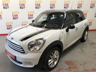 Voiture occasion MINI COUNTRYMAN COOPER D ALL4 PACK RED HOT CHILI BLANC Diesel Nimes Gard