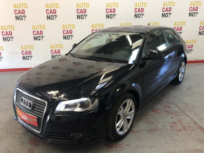 Voiture occasion AUDI A3 2.0 TDI 140 AMBITION S TRONIC NOIR Diesel Nimes Gard