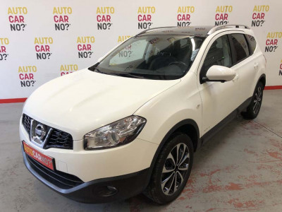 Voiture occasion NISSAN QASHQAI +2 1.6 DCI 130CV FAP STOP/START TECHVIEW EDITION ALL-MODE BLANC Diesel Arles Bouches du Rhône