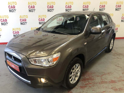 Voiture occasion MITSUBISHI ASX 1.8 DI-D CLEARTEC 115 4WD INVITE GRIS Diesel Nimes Gard