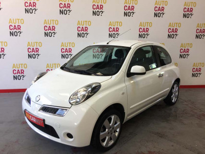 Voiture occasion NISSAN MICRA III 1.2 65 CONNECT EDITION BLANC Essence Alès Gard