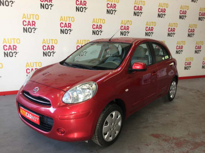 Voiture occasion NISSAN MICRA IV 1.2 80 ACENTA ROUGE Essence Nimes Gard