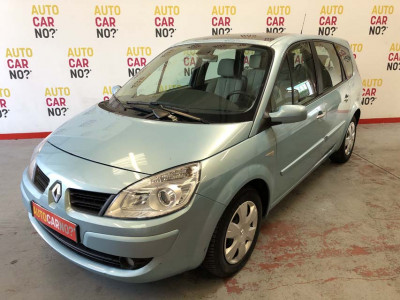 Voiture occasion RENAULT GRAND SCENIC 2 1.9 DCI 130 LATITUDE 5PL BLEU Diesel Nimes Gard