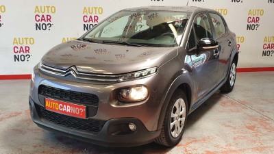 Voiture occasion CITROEN C3 III 1.6 BLUE HDI 75 S/S FEEL GRIS Diesel Nimes Gard