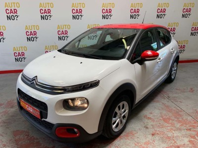 Voiture occasion CITROEN C3 BLUE HDI 75 FEEL S/S BLANC Nimes Gard