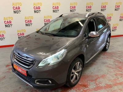 Voiture occasion PEUGEOT 2008 1.6 E-HDI 115 CROSSWAY GRIS Diesel Nimes Gard