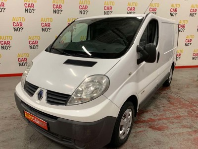 Voiture occasion RENAULT TRAFIC 2 L1H1 1200 2.0 DCI 115 GRAND CONFORT BLANC Diesel Montpellier Hérault