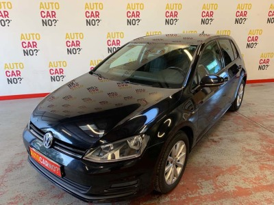 Voiture occasion VOLKSWAGEN GOLF 7 1.6 TDI 105 BLUEMOTION TECHNOLOGY LOUNGE DSG7 5P NOIR Diesel Alès Gard
