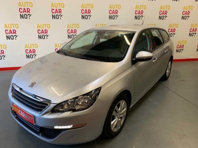 Voiture occasion PEUGEOT 308 SW 1.6 BLUEHDI 100 S&S ACTIVE BUSINESS GRIS Diesel Nimes Gard