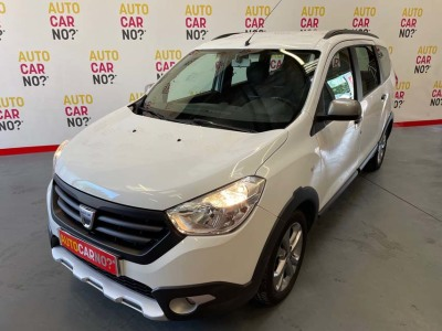 Voiture occasion DACIA LODGY TCE 115 STEPWAY BLANC Essence Montpellier Hérault