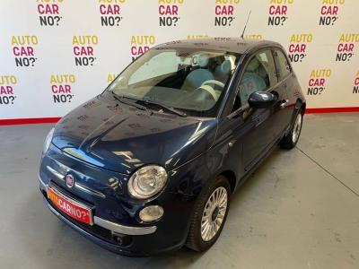 Voiture occasion FIAT 500 1.2 8V 69 LOUNGE BLEU Essence Nimes Gard