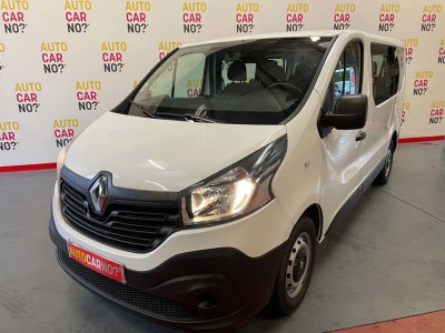 Voiture occasion RENAULT TRAFIC 3 COMBI L1 1.6 DCI 90 LIFE 9 PLACES BLANC Diesel Nimes Gard