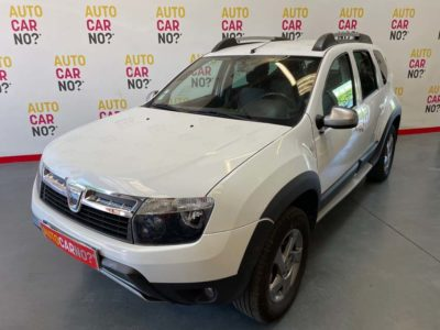 Voiture occasion DACIA DUSTER 1.5 DCI 90 FAP 4X4 DELSEY BLANC Diesel Nimes Gard