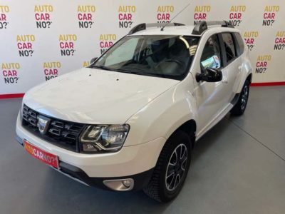 Voiture occasion DACIA DUSTER 1.5 DCI 110 BLACK TOUCH 4X4 BLANC Diesel Nimes Gard